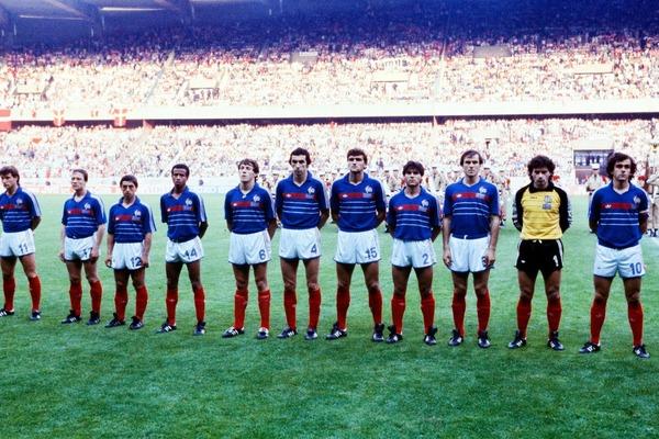 L' équipe de France dispute là sa deuxième finale d'un Championnat d'Europe des Nations.