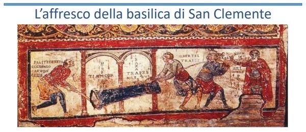 Quale iscrizione rappresenta Sisinnio nell'atto di ordinare ai suoi servi (Gosmario, Albertello e Carboncello) di legare e trascinare un prete il quale, nel frattempo, si è trasformato in una colonna di pietra?
