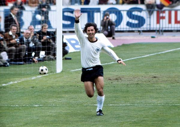 En quelle année l'allemand Gerd Müller a-t-il remporté la Coupe du Monde ?