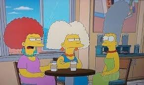 Comment se prénomment les deux soeurs de Marge Simpson ?