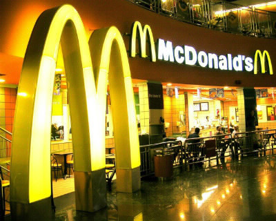 Where can we find McDonald's in America ?