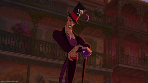 Dans la Princesse et la grenouille: Selon sa chanson d'où viennent les amis du docteur Facilier ?