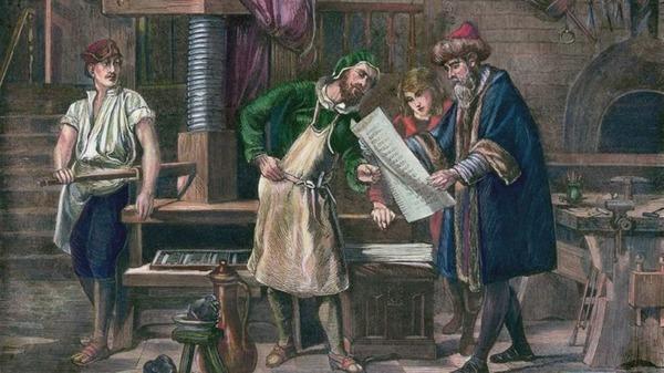 Quel était le prénom de Gutenberg ?