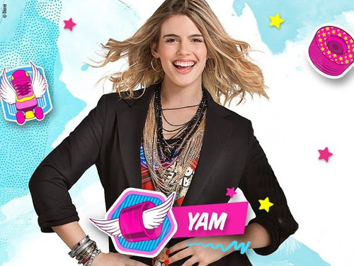 Jak ma na imię aktorka grająca Yam ?
