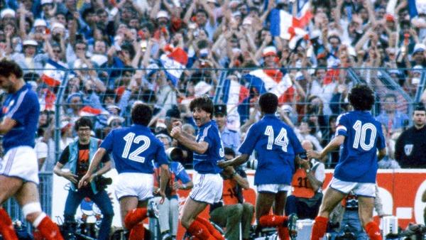 Quel joueur n'a pas inscrit de but lors de l' Euro 84 ?