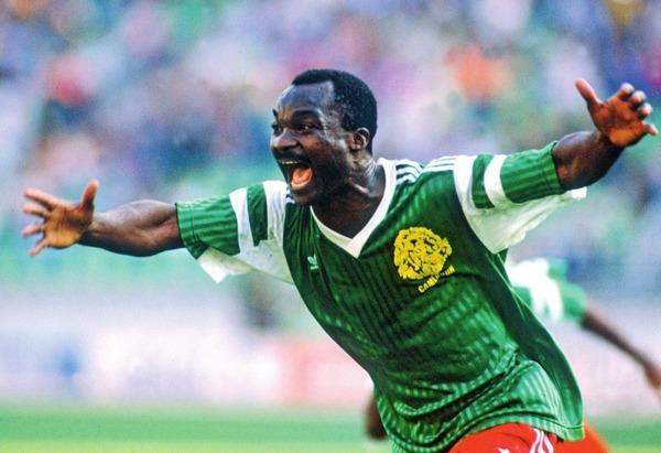 Lors de quel Mondial Roger Milla et le Cameroun ont-ils éliminé la Colombie ?