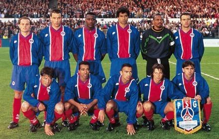 Le 8 mai 1996, quelle équipe le Paris SG affronte-t-il en finale de Coupe des Coupes ?