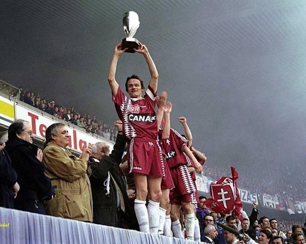 En quelle année le FC  Metz a-t-il remporté la Coupe de la Ligue ?