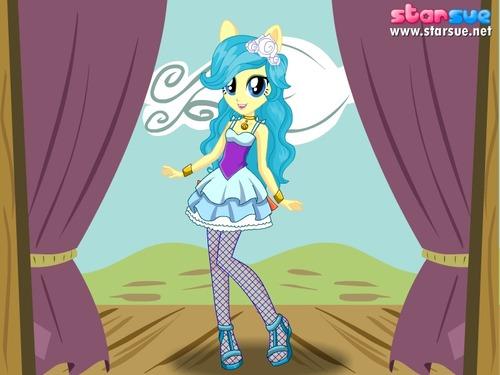 ¿En equestria girls como se llama el grupo de las sirenas?