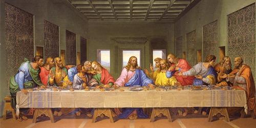 La Cène (ou le Dernier Repas) de Léonard de Vinci a été peinte sur quelle surface ?