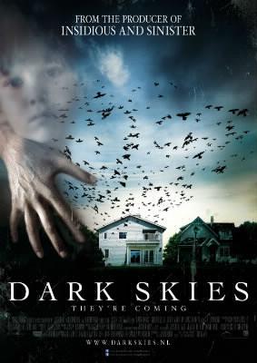 """Selon le CNC (Le CSA du cinéma), le film"""" Dark Skies"""", est ..."""