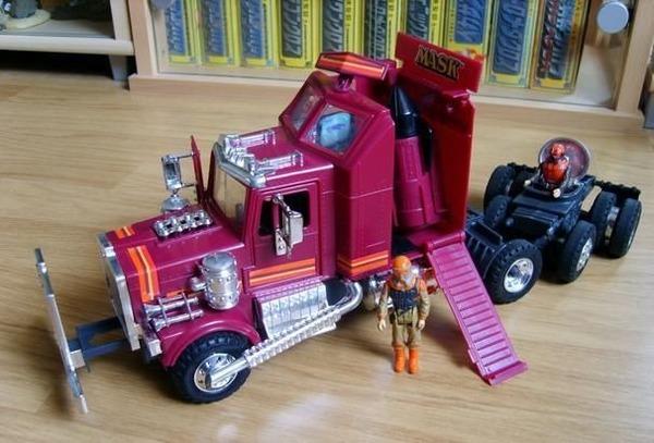 Quelle firme a fabriqué les jouets MASK dans les années 80 ?