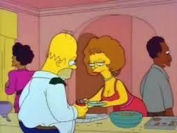 Au cours de quel évènement Homer a-t-il accidentellement tué Maude, la femme de Flanders ?
