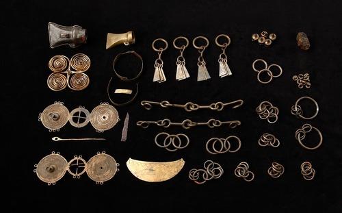 W którym roku znaleziono tzw. skarb z Kiełpina ?