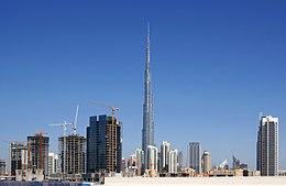 Le Burj Khalifa est un célèbre quartier des affaires mais dans quel pays du golfe se situe-t-il ?
