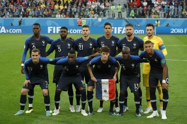A qui l'équipe de France est-elle opposée lors de la finale de 2018 ?