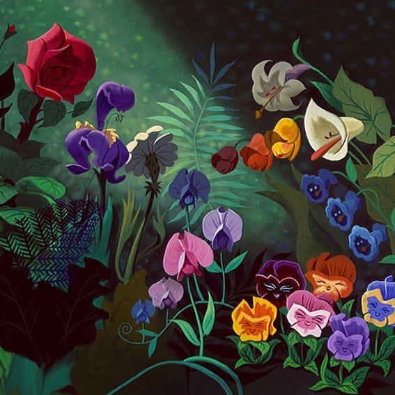 Dans quel Disney ou Pixar peut-on voir ces fleurs ?