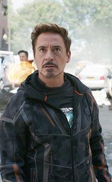 Combien d'armures posées de Tony Stark (fin endgame) ?