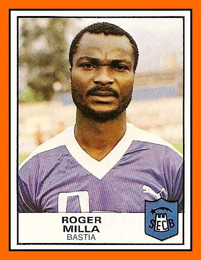 Le SCB a été le premier club français de la carrière de Roger Milla.