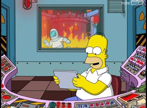 Quel est le rôle d'Homer à la Centrale Nucléaire ?