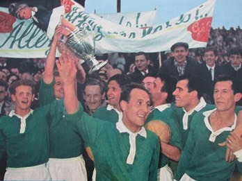 Contre quelle équipe les stéphanois remportent-ils leur première Coupe de France en 1962 ?