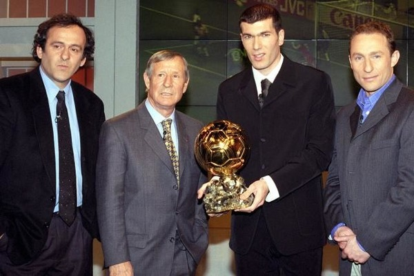En quelle année remporte-t-il le Ballon d'Or ?