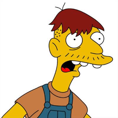 Combien d'enfants a eu Cletus Spuckler (le fermier de Springfield) avec sa femme ?