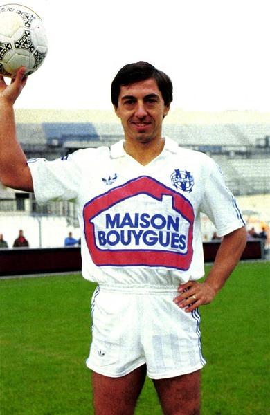 L' OM est le dernier club pro de la carrière d'Alain Giresse.