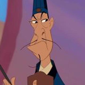 Quel est le nom de ce personnage dans Mulan ?