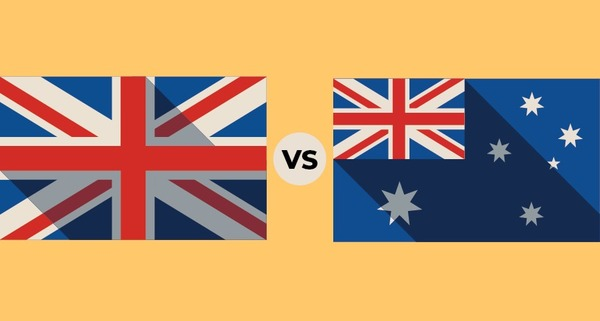 There are more people in Australia than in the UK.