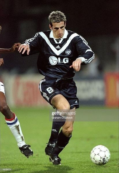 Champion de France 1999 avec les Girondins, il s'agit de ?