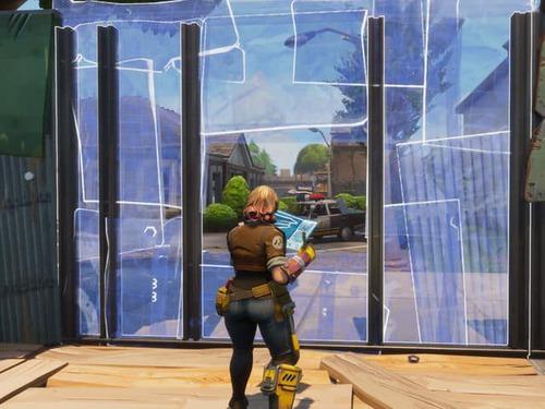 Quantas opções de construção existe em Fortnite Battle Royale ?