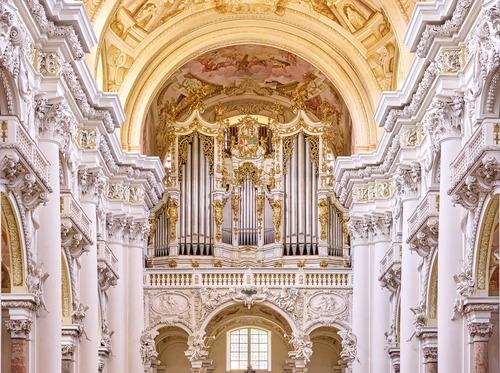 Quem foi aqui organista? (St. Florian –Áustria)