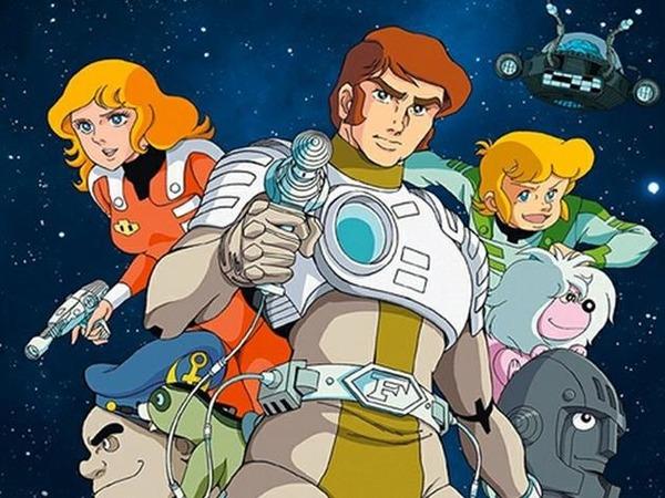 La série animée Capitaine Flam est ....
