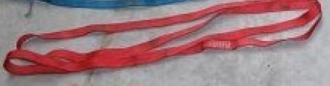 Quelle est la longueur des anneaux cousus rouges ?