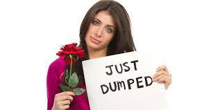 What could you say to a friend who just got dumped ?