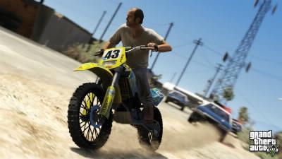Quel est le nom du moto-cross de cette capture d'écran ?