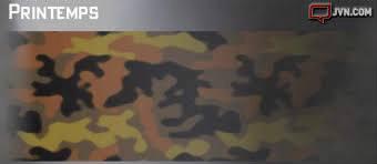 Dans le mode multijoueur, à combien de tirs tête débloque-t-on le camouflage printemps ?
