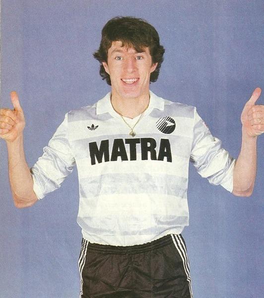 Luis Fernandez a terminé sa carrière de joueur professionnel au Matra.