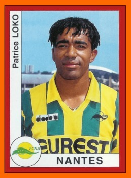 Lors de la saison 94-95, contre quelle équipe Patrice Loko inscrit-il un but d'antholgie après un une-deux avec Reynald Pedros ?