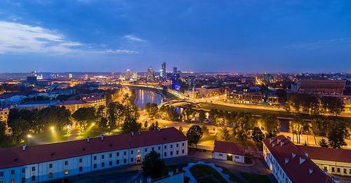 Quel pays a pour capitale Vilnius ?