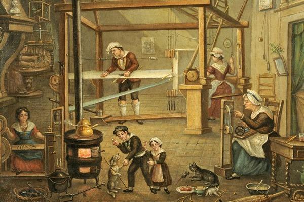 Quand est-ce que la soie commence à prendre de l'importance dans l'histoire lyonnaise ?