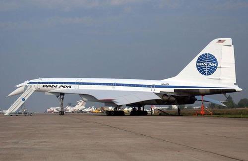 Je tohle Concorde od Tupoleva ?