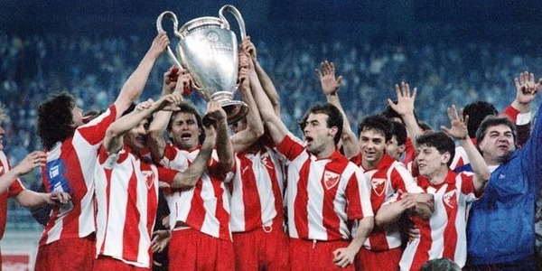 Qui perd la finale de 1991 contre l'Etoile Rouge de Belgrade ?