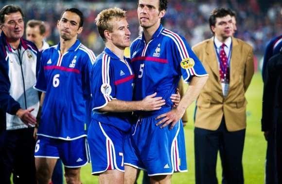 Avec cette finale, Laurent Blanc a disputé son dernier match d'une compétition internationale.