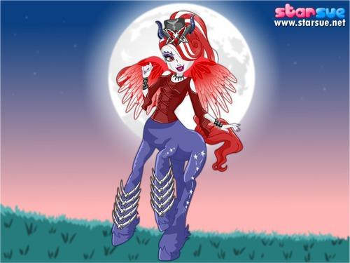 C'est une Monster High ?