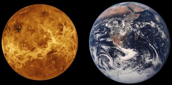 Která planeta je svým složením nejpodobnější Zemi?