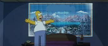 Dans le film, la famille Simpson va en :