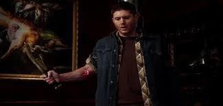Quando Dean recebe a marca de Caim ele vira o que?