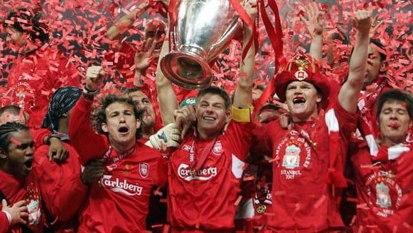 Qui perd la finale de 2005 contre Liverpool ?
